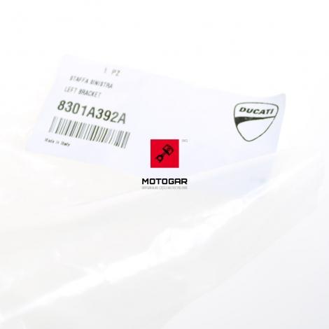 Listwa wspornik handbar Ducati Hypermotard 939 2016-2018 lewa [OEM: 8301A392A]