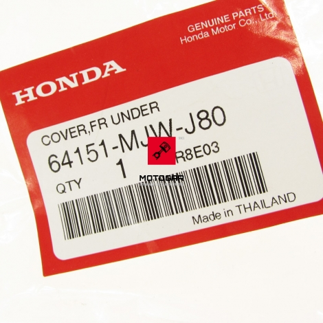 Dziób nosek owiewka Honda CB 500X 2016 2017 [OEM: 64151MJWJ80]
