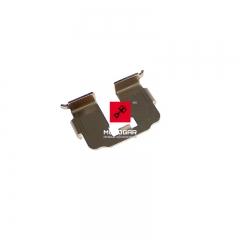 Blaszka klocków hamulcowych Honda FES 125 150 2003-2005 tył [OEM: 43112KRJ901]