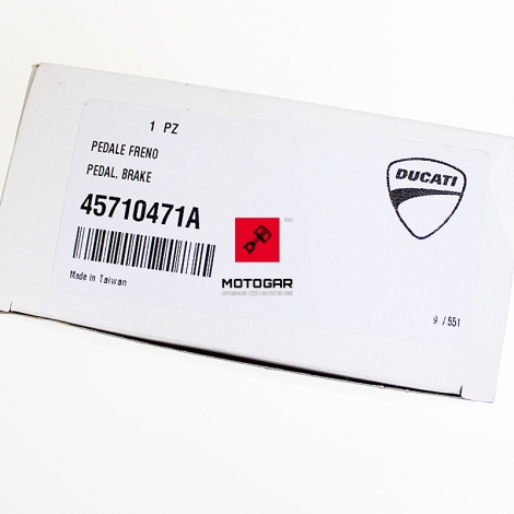 Dźwignia hamulca nożnego Ducati Streetfighter 2010-2015 [OEM: 45710471A]