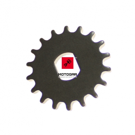 Tryb napędu pompy oleju Honda VTX 1800 2002-2007 18T [OEM: 15134MCH000]