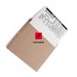 Naklejka informacyjna na wahacz (opony) Honda XL 600 650 Transalp [OEM: 87505MAW630]