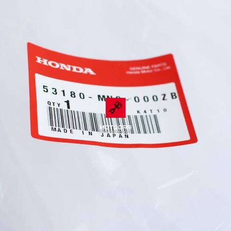 Prawy handbar, osłona dłoni Honda NX 500 650 XL 600V XRX 750 [OEM: 53180MN9000ZB]
