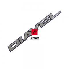 Emblemat owiewki zbiornika Ducati Diavel 2011-2013 [OEM: 43815601B]