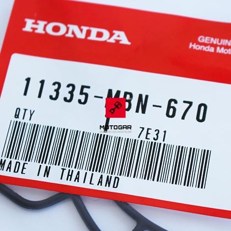 Uszczelka pokrywy filtra oleju Honda XR 650R [OEM: 11335MBN670]