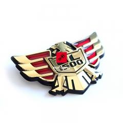 Emblemat, logo Honda GL 1500 Gold Wing boczna owiewka [OEM: 83606MT8000]