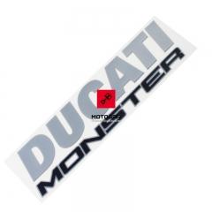 Naklejka na bak Ducati Monster 1200 2014-2016 [OEM: 43511441A]