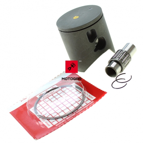 Tłok pierścienie Suzuki RM 125 2004-2008 zestaw nominał [OEM: 1210136821]