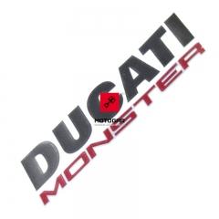 Emblemat na zbiornik paliwa Ducati Monster 1200 2014-2016 [OEM: 43511491A]