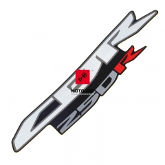 Naklejka emblemat owiewki Honda CBR 250R 2011 lewa prawa [OEM: 86641KYJ900ZA]