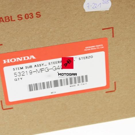 Półka dolna ze sztycą Honda CB 600 Hornet 2009-2013 [OEM: 53219MFGG40]