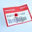 Plastik, lewa osłona kierownicy Honda FJS 400 600 Silver Wing [OEM: 53271MCT000]