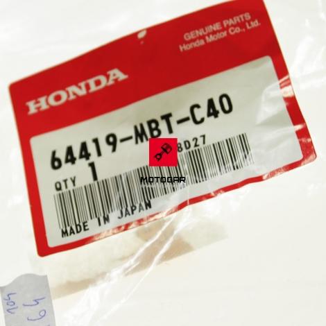 Mocowanie osłony pod silnik Honda XL 1000 Varadero 2007-2011 lewe [OEM: 64419MBTC40]