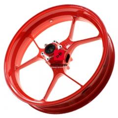 Felga Aprilia Tuono RSV4 3,50x17 przednia czerwona [OEM 2B002105]