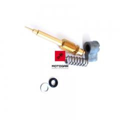 Zestaw śruba regulacji składu mieszanki Honda XR 100 200 250 400 [OEM: 16016KC2970]