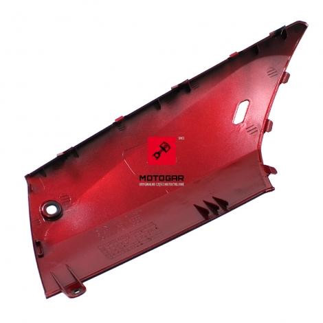 Osłona podłogi pług Honda SH 125 2013 prawa czerwona [OEM: 64321K01900ZF]