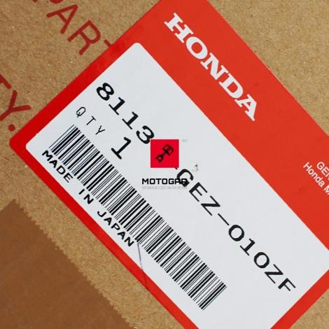 Owiewka przednia czarna Honda NPS 50 Zoomer [OEM: 81130GEZ010ZF]