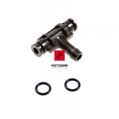 Trójnik paliwowy gaźników Honda CB 750 środkowy [OEM: 16026MW3R00]