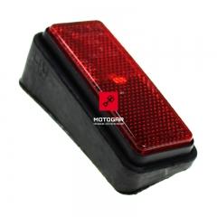 Odblask kufra Yamaha FJR 1300 2003 prawy czerwony [OEM: ABA5JW7222]