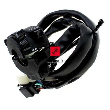 Przełącznik zespolony Honda XL 1000 2003-2011 lewy [OEM: 35020MBTD20]