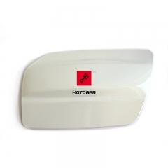 Klapka wlewu paliwa Suzuki AN 650 Burgman biała [OEM: 4738110G11YPA]