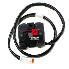 Przełącznik zespolony Ducati Multistrada 1200 Superbike 899 1199 lewy [OEM: 65110131A]