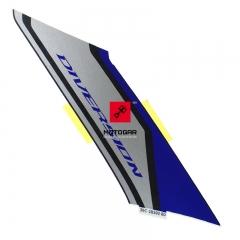 Naklejka czachy Yamaha XJ6S Diversion 2014 prawa 36C2839280 [OEM: 36C2839280]