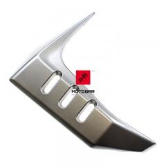 Obudowa owiewka chłodnicy Kawasaki Z1000 2003-2006 lewa srebrna [OEM: 14091154110C]