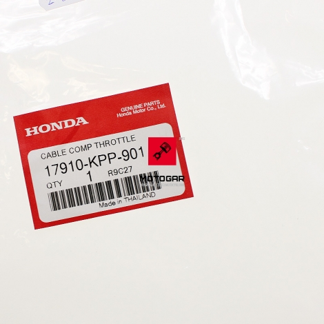 Linka cięgno gazu Honda CBR 125 2004-2006 [OEM: 17910KPP901]