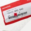 Osłona wydechu Honda XL 125 Varadero 2001-2011 [OEM: 18423KPC640]