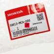Set uchwyt podnóżka kierowcy Honda GL 1800 Gold Wing prawy przód [OEM: 50613MCA000]