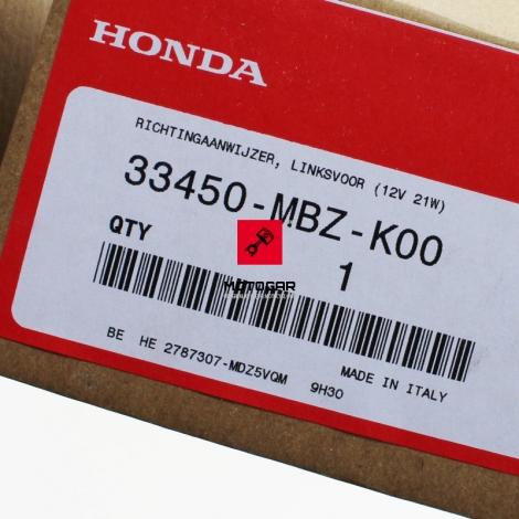 Kierunkowskaz Honda CB 600 CBF 500 600 lewy przedni [OEM: 33450MBZK00]