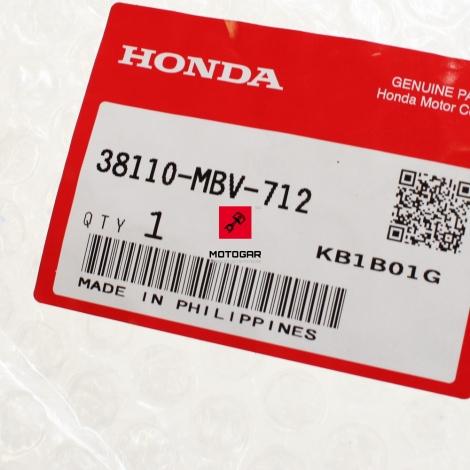 Klakson sygnał dźwiękowy Honda CB 1100 1300 CRF 450 CBF 1000 XR 125 [OEM: 38110MBV712]