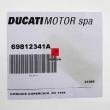 Nakładka kufra Ducati Multistrada 950 Touring 2017 prawa [OEM: 69812341A]