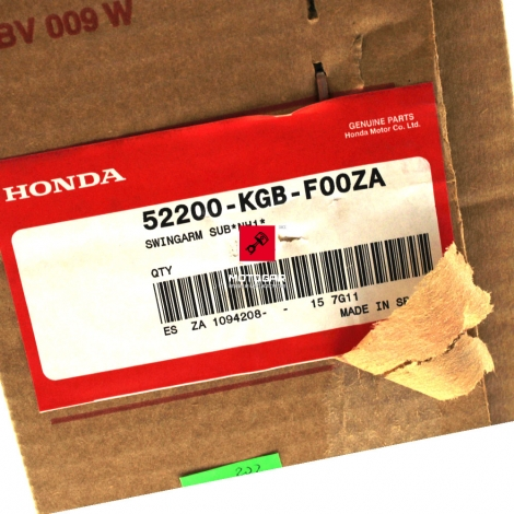 Wahacz Honda VT 125 Shadow 2003 2004 2006 [OEM: 52200KGBF00ZA]