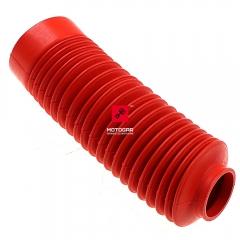 Osłona guma lagi Honda XL 125 185 1990 czerwona [OEM: 51611GJ0632ZF]