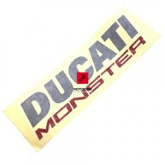 Emblemat na bak Ducati Monster 821 2015-2016 [OEM: 43819291AK]