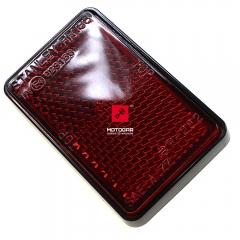 Odblask Kawasaki KLR GPZ VN EL GTR GPX KMX KDX KLX czerwony [OEM: 280121088]