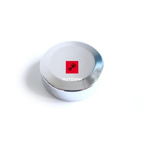 Chromowana końcówka, zaślepka manetki Suzuki VS 750 1400 LS 650 VZR 1800 [OEM: 5721638A00]