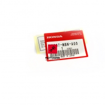 Naklejka tylnego wahacza Honda XR 650 FMX 650 [OEM: 87507MBNA00]