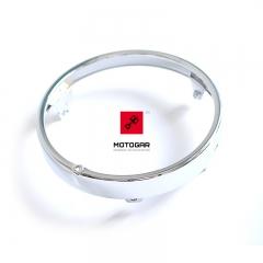 Obręcz przedniej lampy Honda CBF CB 500 600 [OEM: 33101MAK000]