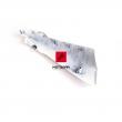 Górna, prawa owiewka ramy Suzuki GSR 750 11-16 biała [OEM: 4753208J00YWW]