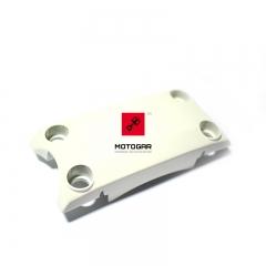 Mocowanie, uchwyt przedniego błotnika Honda CBX 750 białe [OEM: 53240MJ1832ZA]