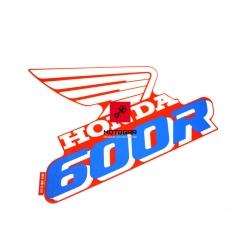 Naklejka na bak Honda XR 600R 1990 [OEM: 87123MN1870]