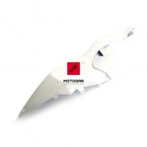 Lewy, tylny boczek owiewka Suzuki GSX-R 1000 biały 09-13 [OEM: 4721147H00YBD]