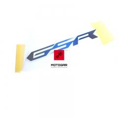 Emblemat Suzuki GSR 750 2011-2012 prawy [OEM: 6866108J00JST]
