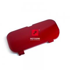 Zaślepka rączki uchwytu pasażera Honda VFR 800 lewa czerwona [OEM: 77217MCWD00ZK]