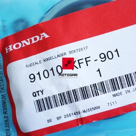 Łożysko wału korbowego Honda FES 125 150 Pantheon 2000-2002 30X72X17 [OEM: 91010KFF901]