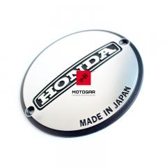 Emblemat, logo na dekiel pokrywe alternatora Honda CB 350 400 [OEM: 11632333010]