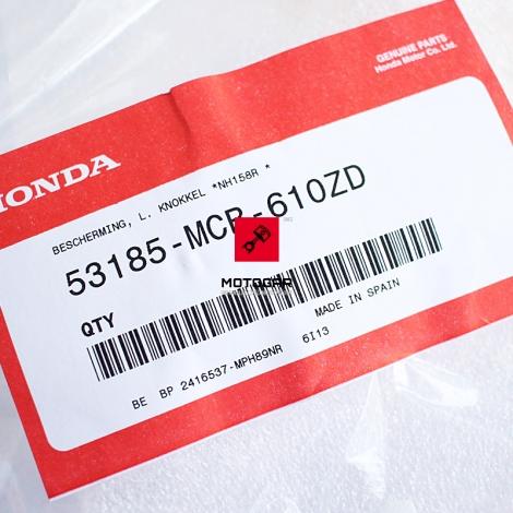 Lewy handbar osłona dłoni Honda XL 650 700 Transalp czarny [OEM: 53185MCB610ZD]
